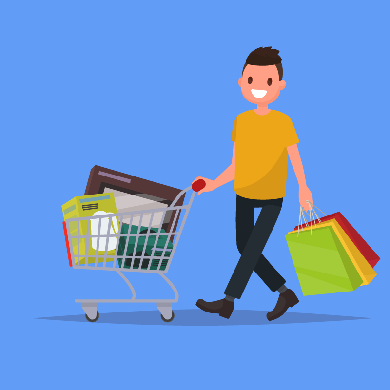 Shopping and Errands – Home Health Care